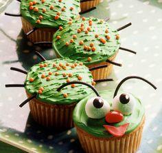Caterpillar Cupcakes Recipe | BakingMad.com