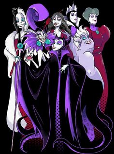 disney villains Image in oh so saweeeet!part 3 collection by robyn&batman Disney Villain Women Disney Marvel, Heros Disney, Evil Disney, Dark Disney, Disney Magic, Disney Villains Art, Disney Art, Disney Kunst, Cute Disney