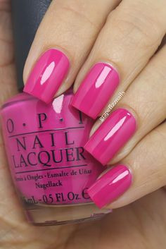 grape fizz nails: OPI Ford Mustang Collection, 2014  Girls Love Ponies