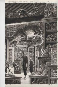 Frankenstein Alive..Alive... by Bernie Wrightson.
