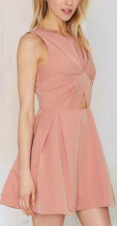 Knot in Love Cutout Dress ❤︎