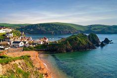Hope Cove, Devon, England by Giles Clare Devon Uk, South Devon, Devon England, Devon And Cornwall, Oxford England, Yorkshire England, Yorkshire Dales, London England, Devon Life