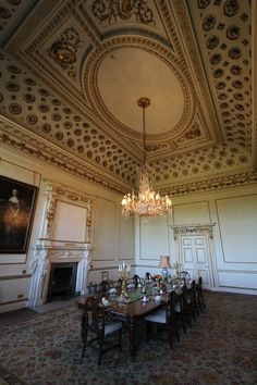 visit Wentworth Woodhouse tour dining room