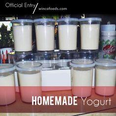 Homemade Yogurt using ingredients from WinCo Bulk Foods Homemade Yogurt Recipes, Homemade Cheese, Yummy Eats, Yummy Food, Make Your Own Yogurt, Crock Pot Freezer, Bulk Food, Evaporated Milk, Cooking On A Budget