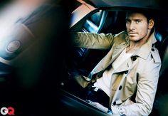 Michael Fassbender GQ Photos - June 2012: Celebrities: GQ