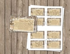 Bring a Book Rustic Burlap and Lace Baby by MissBlissInvitations Lace Baby Shower, Baby Shower Gift Basket, Baby Shower Brunch, Gender Neutral Baby Shower, Baby Shower Invites For Girl, Baby Shower Parties, Baby Shower Themes, Baby Shower Invitations, Babyshower Invites