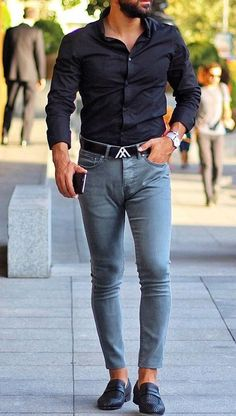 Classy casual attire for men