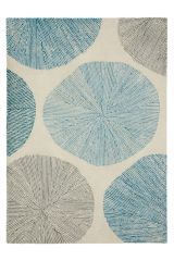 Fossil Teal Rug (896897G80) | £90 - £220