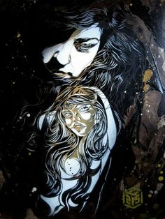 Paris Street Art by C215