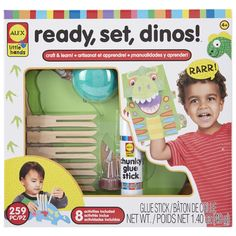 Looking for dinosaur toys with a difference? Look no further. This will make a great present or fun day activity.