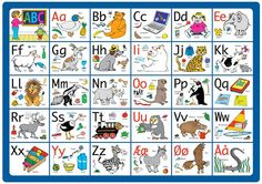 alfabet med vokaler og konsonanter - Google-søgning