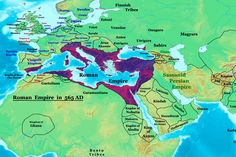map of belisarius   byzantine empire at its greatest extent 565