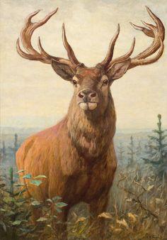 Diamond Painting The Autumn Deer Paint with Diamonds Art Crystal Craft Decor Wildlife Paintings, Wildlife Art, Animal Paintings, Animal Drawings, Horse Drawings, Deer Photos, Deer Pictures, Oil Painting Pictures, Pictures To Paint