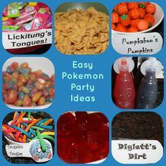 Super Easy Pokemon Party Ideas