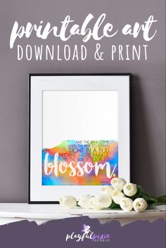 Printable Quotes, Printable Art, Anais Nin Quotes, Rainbow Wall, Affordable Art, Home Office Decor, Gifts For Friends, Art Quotes, Pixie
