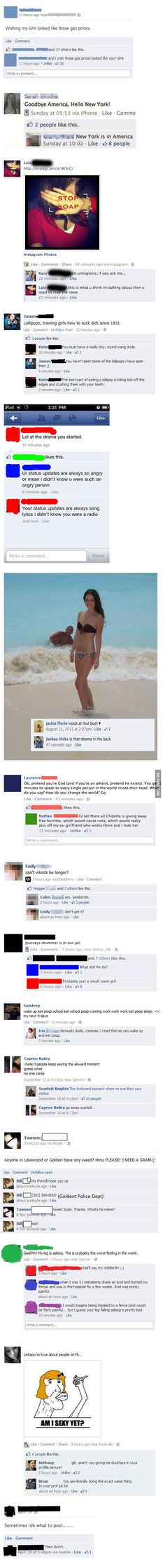 These are some priceless Facebook comebacks