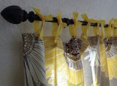 Shower curtain and ribbon for DIY curtains