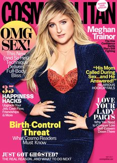 DIARY OF A CLOTHESHORSE: Meghan Trainor covers Cosmopolitan Magazine May 20...
