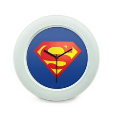 BigOwl   Superman logo Illustration Table Clock Online India at BigOwl.in