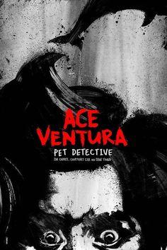 Remake: Movie Posters - Ace Ventura: Pet Detective