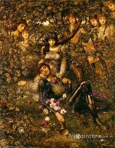John Melhuish Strudwick,Acrasia oil painting reproductions for sale