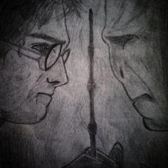 Harry Potter dan Relikui Kematian  #harrypotter #voldemort #hogwarts #gryffindor #slytherin #deathlyhallows   #lasthorcrux #scetch
