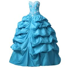 Reminds me of Marie Antoinette  Sunvary Sexy Ball Gown Skirt Sweetheart Neckline Taffeta Quinceanera Dresses Prom Party Dresses Long with Appliques http://www.amazon.com/dp/B00BTW0882/ref=cm_sw_r_pi_dp_uF24ub0S0S030