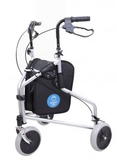 Smart Patrol Rollator Walker With 10 Inch Wheels For Rough