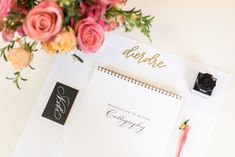 Calligraphy Education Spotlight: Pointed-pen Calligraphy Workshops & At-home Learning | Laura Hooper Calligraphy Laura Hooper Calligraphy, Modern Calligraphy, Caroline Campbell, Calligraphy Practice, Home Learning, Spotlight, Floral Arrangements, Initials, Workshop