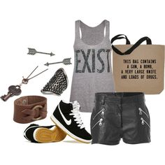 """""""Existentialism"""" by ukisskissme on Polyvore"""