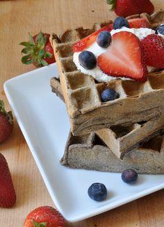Ricotta Buckwheat Waffles Recipe
