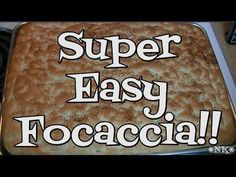 Super Easy Focaccia Recipe!! Noreen's Kitchen