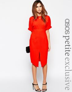 ASOS PETITE Wiggle Dress with Split Front £45 UK8