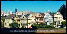 Painted Ladies en Álamo Square, San Francisco.