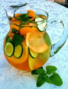 FAT FLUSH WATER !!! You should drink at least three 8 oz glasses per day, they say the longer it sits, the better it tastes. You can eat them as well but they are intended as flavoring and still work, so that is a personal choice. The Vitamin C turns fat into fuel, the tangerine increases your sensitivity to in...See More