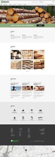 Timber Selling Company #website #template. #themes #business #responsive