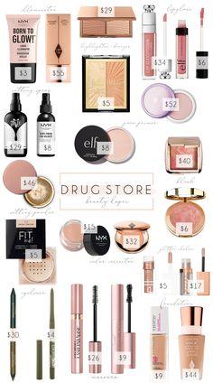 Best Drugstore Dupes, Skincare Dupes, Beauty Dupes, Drugstore Beauty, Beauty Makeup, Beauty Box, Beauty Ideas, Liquid Glitter Eyeshadow, Makeup Artist Tips
