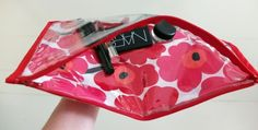 Marimekko Vinyl Make-up Bag by Kate Smalley | Project | Sewing / Bags & Purses | Accessories | Kollabora