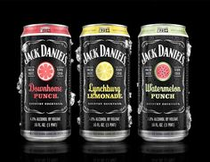 Jack Daniels Country Cocktails