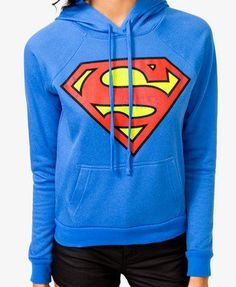 Superman hoodie. If you know me, than you'll know I'm basically obsessed with Superman