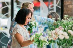 @victoriangardensfloraldesign Flower Crown Class