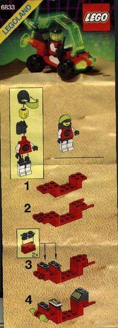 Aquazone etc Wild West 1998 Adventurers Booklet // Catalog Lego