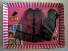 Vintage-Barbie-Outfit-1964-1965-Black-Magic-Ensemble