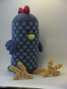 Ravelry: Charlie the Cuddly Rooster pattern by Allison Cleaver