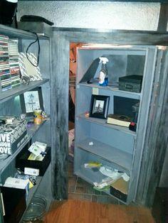 Secret door in closet