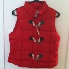 Winter outdoor vest Red and comfy Arizona Jean Company Jackets & Coats Vests