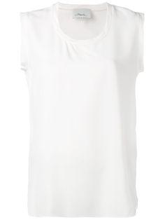 3.1 PHILLIP LIM Sleeveless Shirt. #3.1philliplim #cloth #shirt