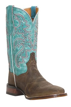 Dan Post Women's Distressed San Michelle Stockman Cowgirl Boots