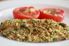 Pistachio Crusted Tilapia | WeeklyGreens.com