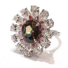 One of a kind Alexandrite ring exclusively by Shreve, Crump & Low   http://ch.shrevecrumpandlow.com/product_detail.php?product_id=2639413&Metal=Platinum/18kt&Stone=Cushion&Style=New&Type=Ring